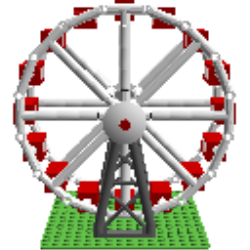 Ferris Wheel clipart mini Mini LEGO Digital Ferris Designer