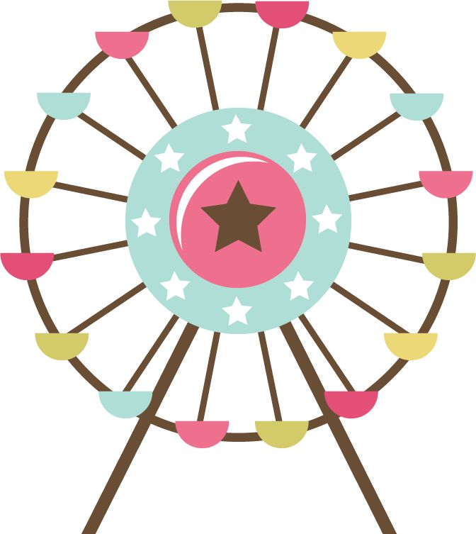 Ferris Wheel clipart vintage Images Pinterest 127 Ferris Wheel