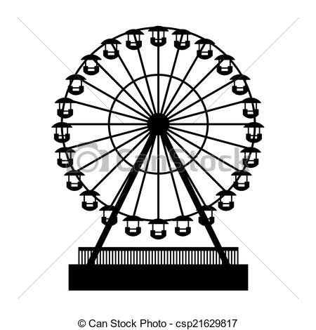 Wheel csp21629817 Clip Silhouette Park