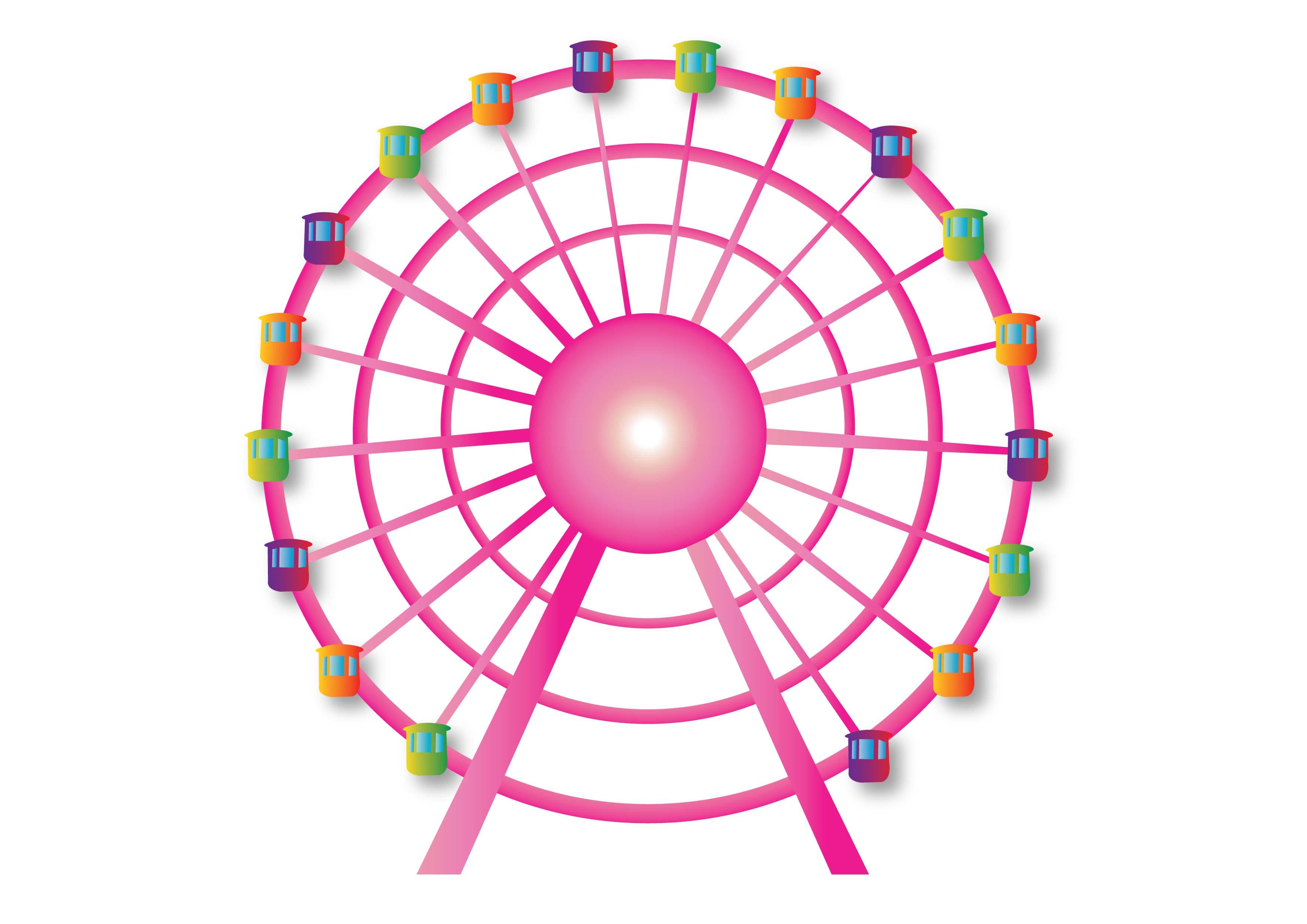Wheels ferris Ferris Wheel clipart