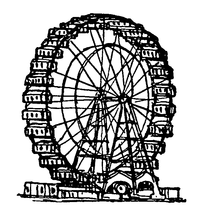 Ferris Wheel clipart vintage Tracking the Ferris War Wheel