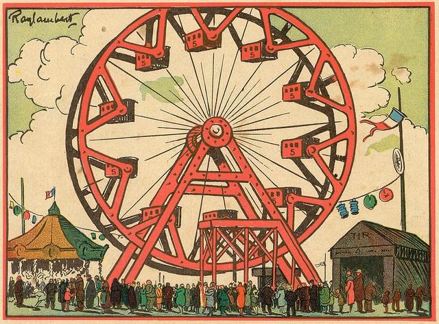 Ferris Wheel clipart vintage carnival Images Ferris wheel Pinterest on