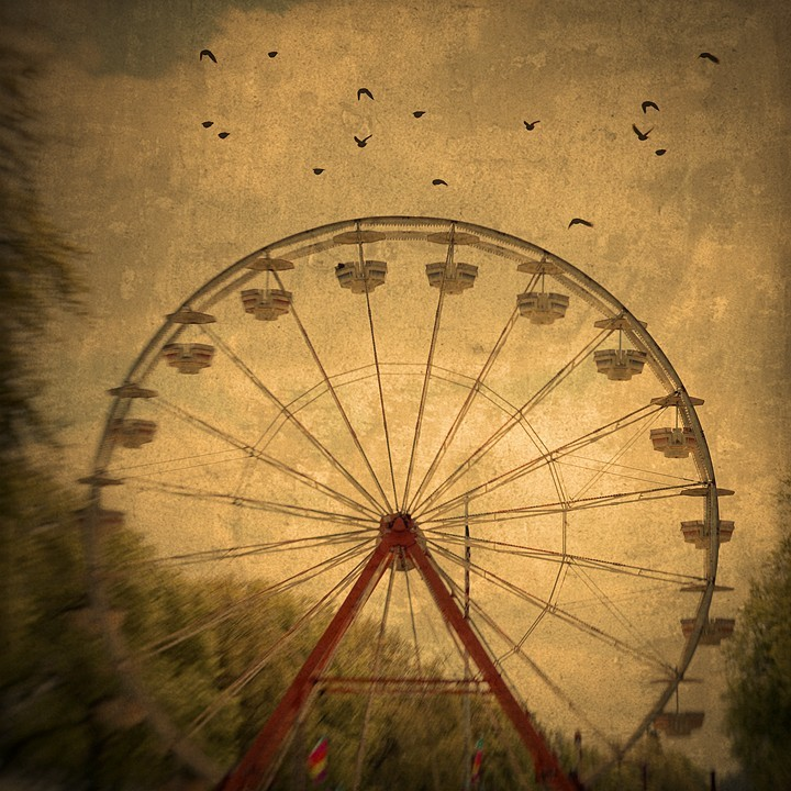 Drawn ferris wheel vintage Photography
