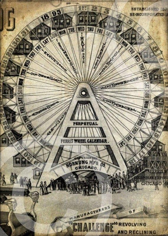 Ferris Wheel clipart vintage carnival Vintage Carnival Pinterest best images