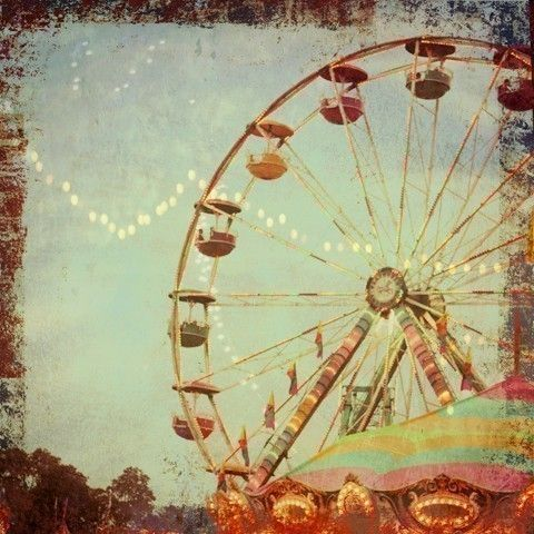 Ferris Wheel clipart vintage carnival This 120 Wheel Pinterest Wheel