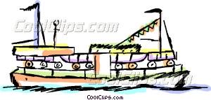Ferry boat Clip Ferry art
