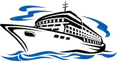 Ferry clipart boat trip Ferry or port speed 4