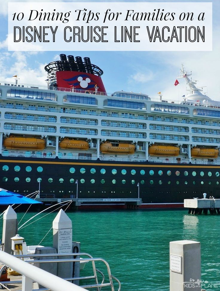 Ferry clipart disney cruise line Cruise Cruise 100 Line Dining