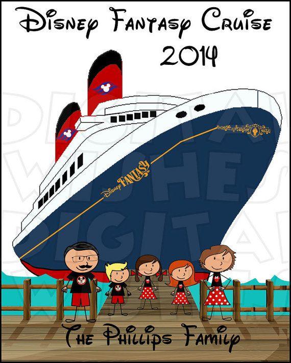 Ferry clipart disney cruise line CHARACTER digital Magic iron 23
