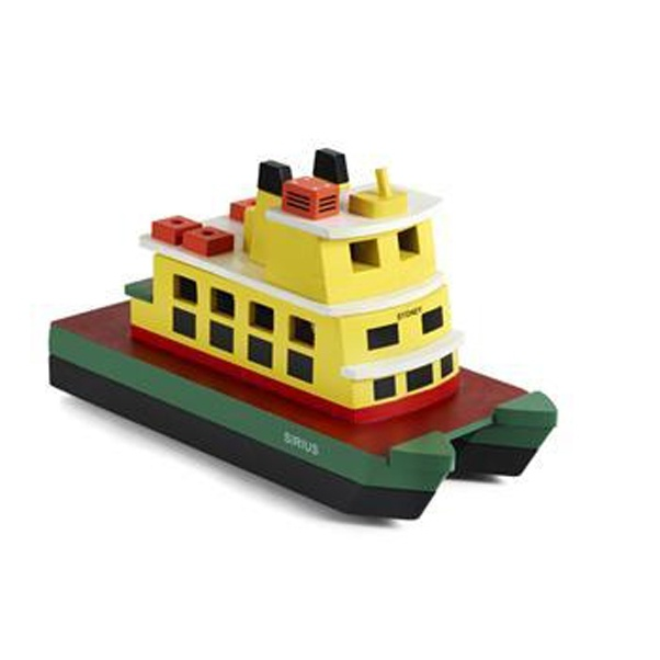 Ferry clipart toy boat Wooden painted colours based beautiful