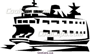 Ferry clipart travel Vector art jpg Clip boat