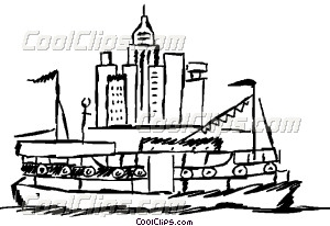 Ferry clipart travel Ferry Vector art boat boat