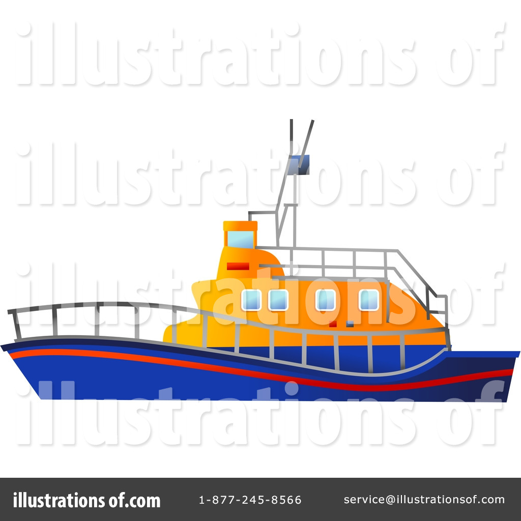 Ferry clipart tug boat (RF) Illustration Free Royalty by