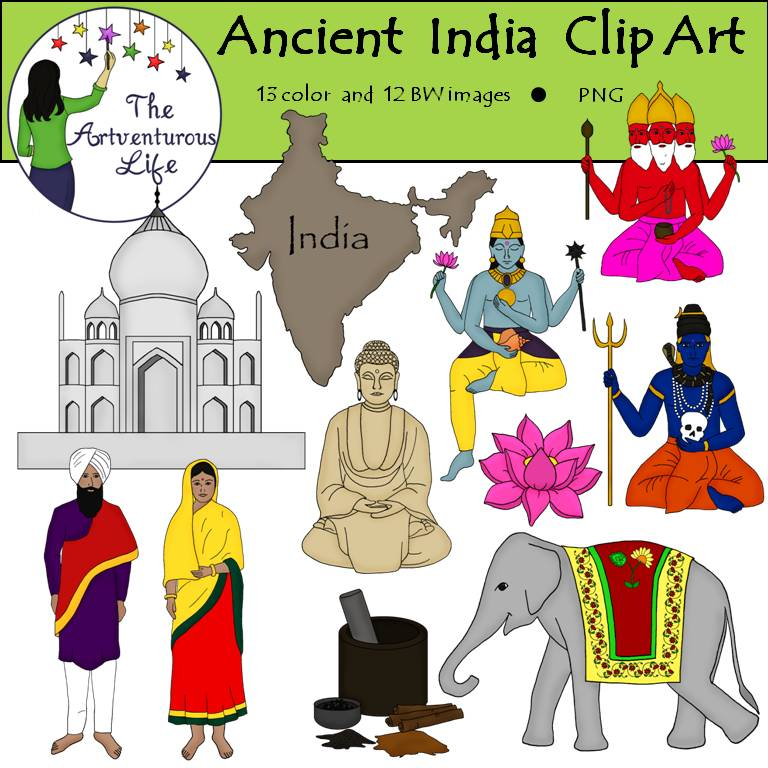 Ancient clipart ancient india Clip and Social studies Art