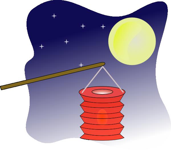 Lantern clipart mooncake Clip  as: vector Art