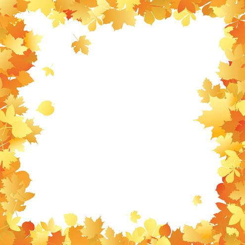 Harvest clipart colorful frame Autumn frame Fall Borders color