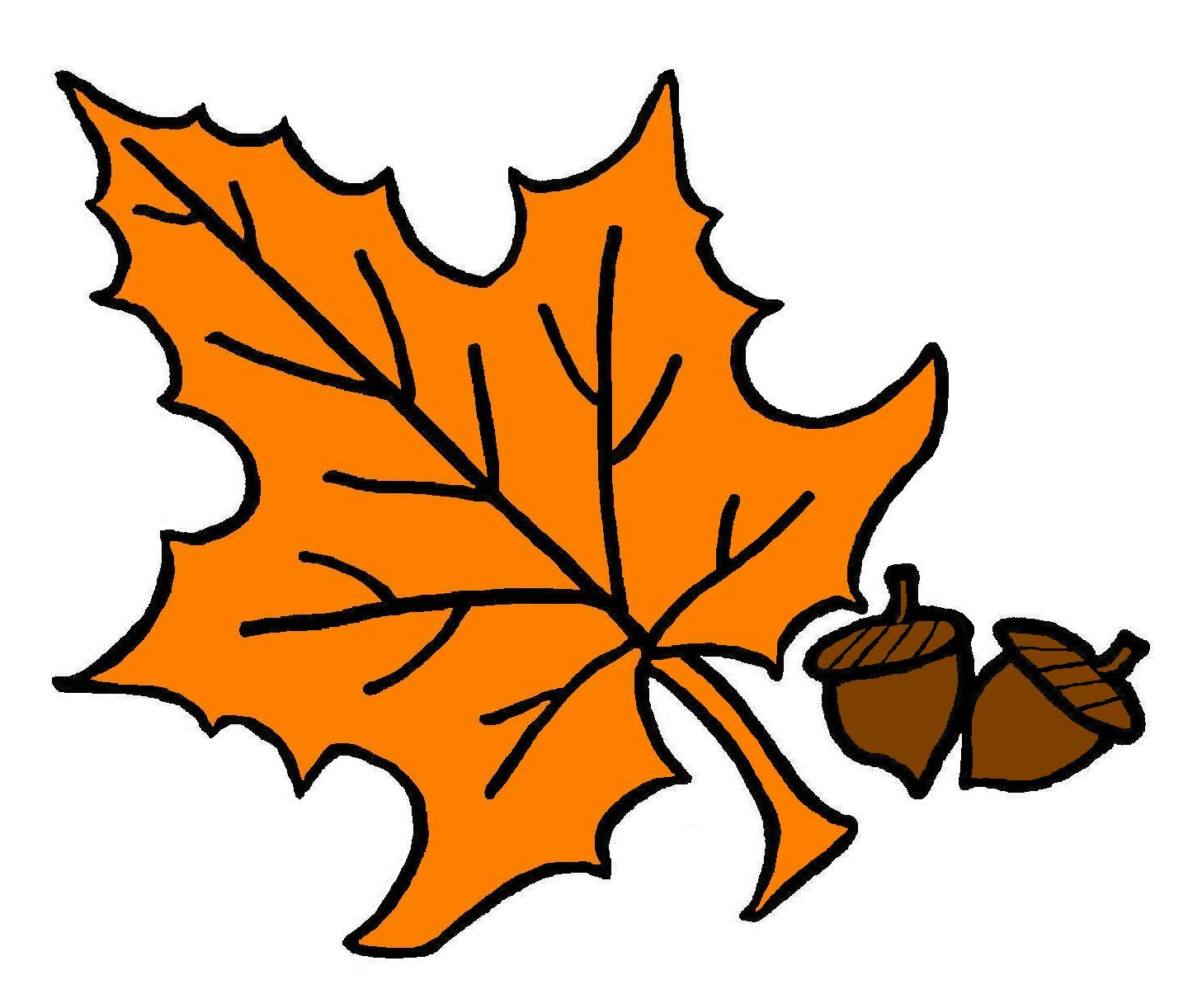Tree clipart autumn leaves #12
