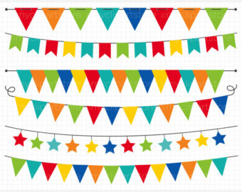 Carnival clipart flag banner Banner collection Clipart clipart Festival