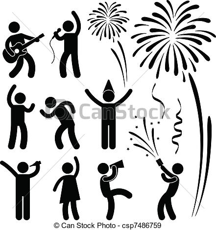 Celebration clipart festival A Festival pictogram  Festival
