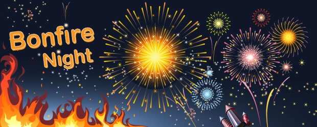 Bonfire clipart fireworks display Bloke confusing the very about