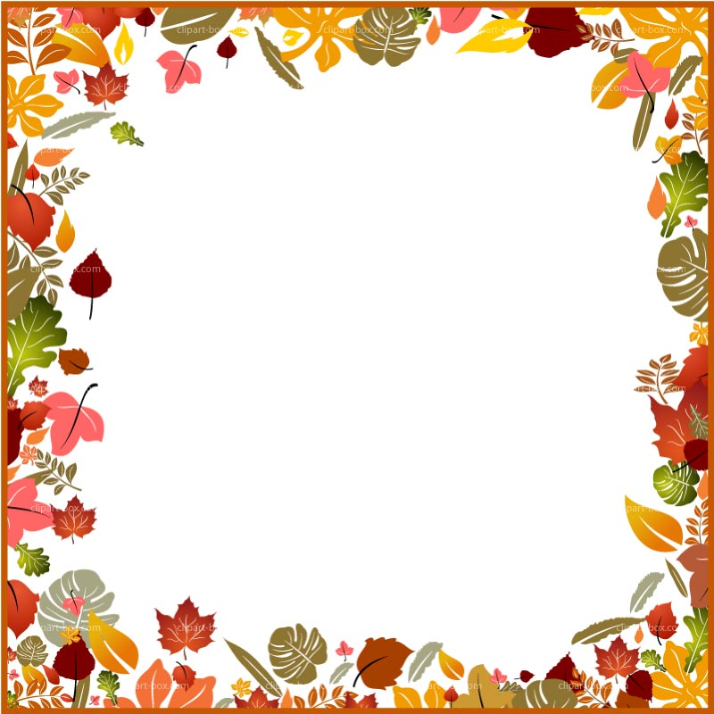 Festival clipart border Free fall images clipart clip