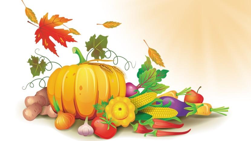 Harvest clipart border Com Festival Fall Art Art