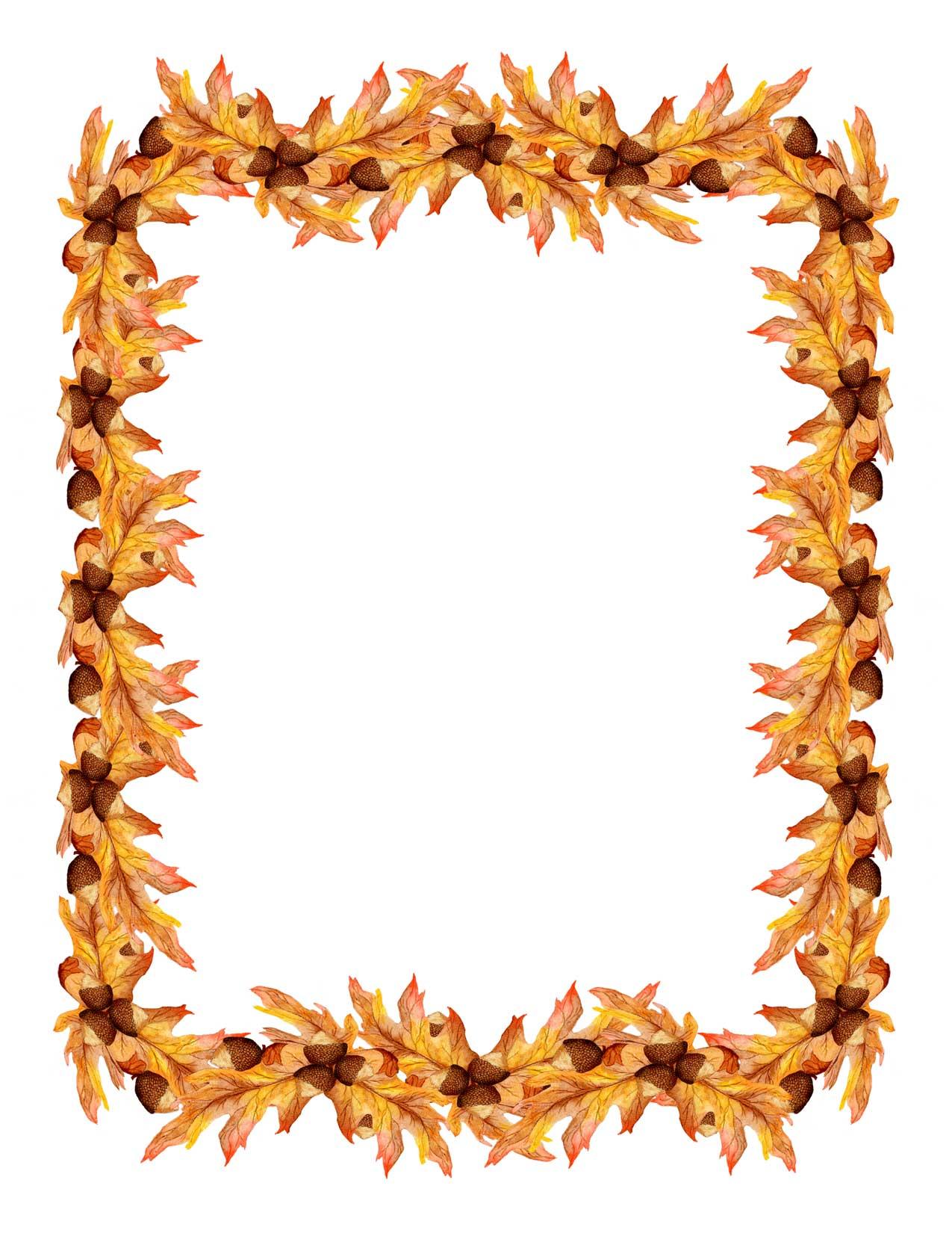 Gourd clipart border Clipart Art Clip Fall Border