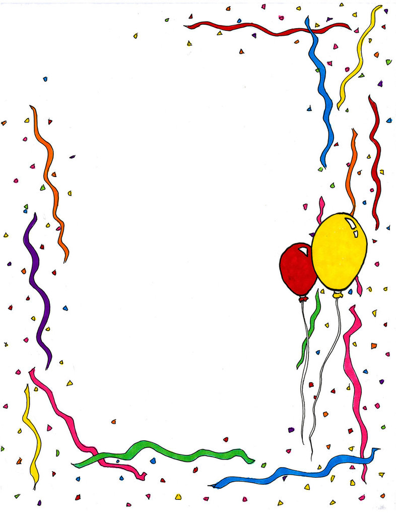 Word clipart birthday party Celebrate Pictures clipartfest Art clip