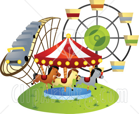 Ferris Wheel clipart amusement park rides #2