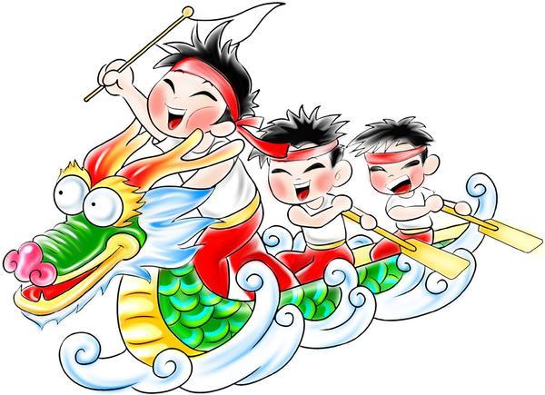 Boat clipart chinese dragon Creative Guide Dragon Boat Festival