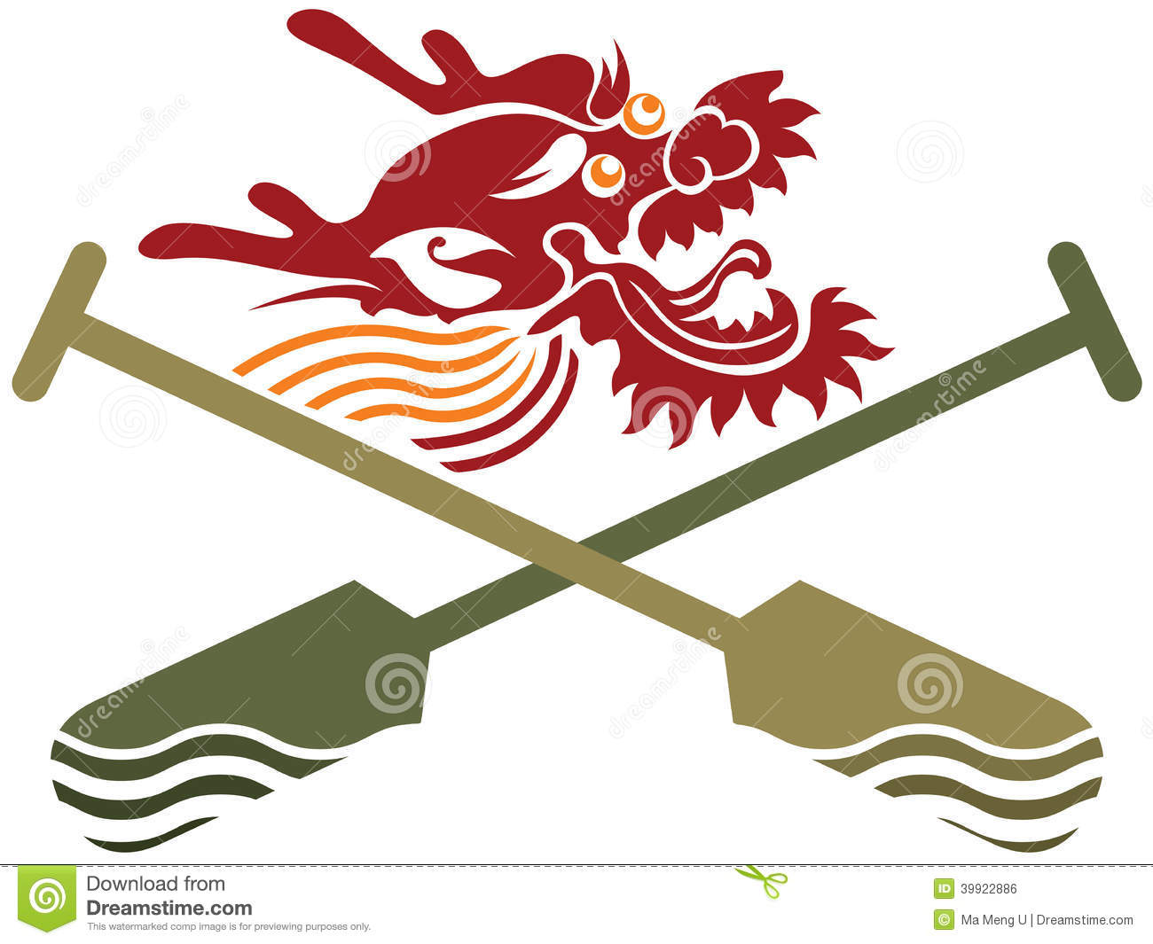 Festival clipart chinese dragon Racing Boat For Sport Clip