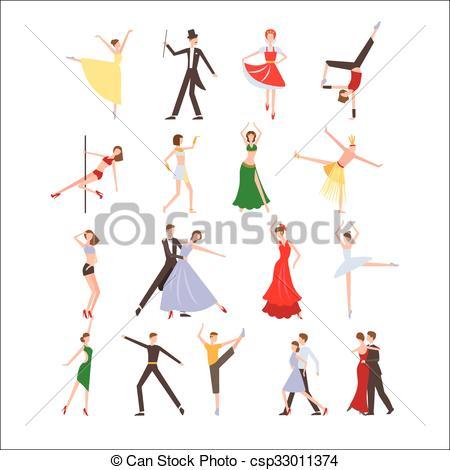 Festival clipart dance Festival Dance flat  csp33011374