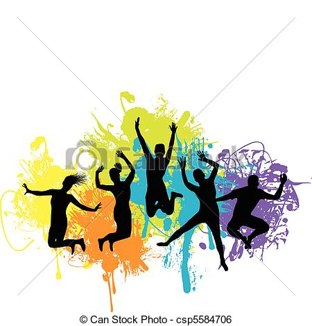 Danse clipart teenager Clipart Clipart Dancing Happy Images
