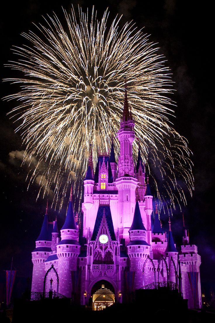 Fireworks clipart castle Disney fireworks wishes images on