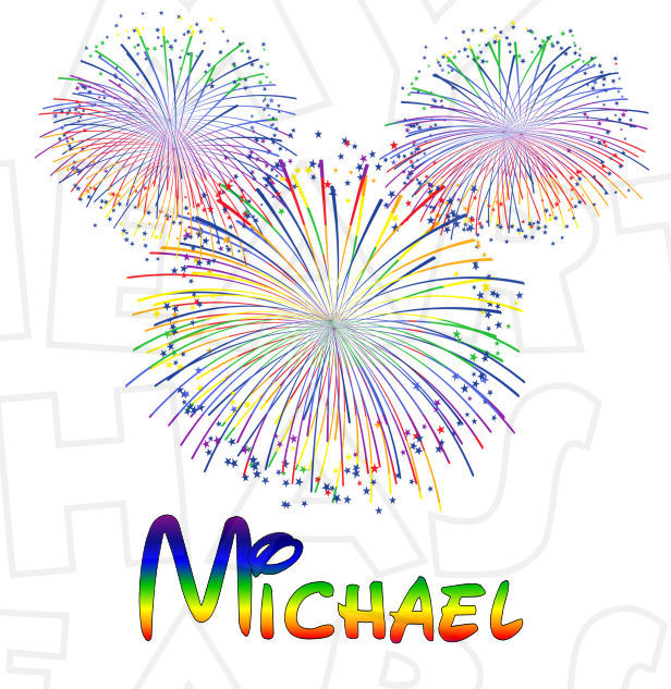 Fireworks clipart disney firework  Mickey Wishes for DIY