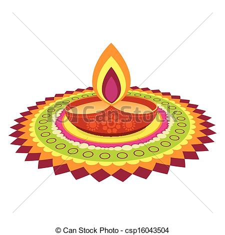 Oil Lamp clipart diwali decoration Colorful festival of colorful colorful