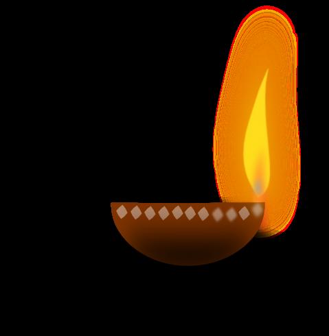 Oil Lamp clipart lighting Free Clip Diwali Lamp