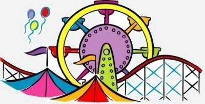 Festival clipart fair A amusement Festival in July