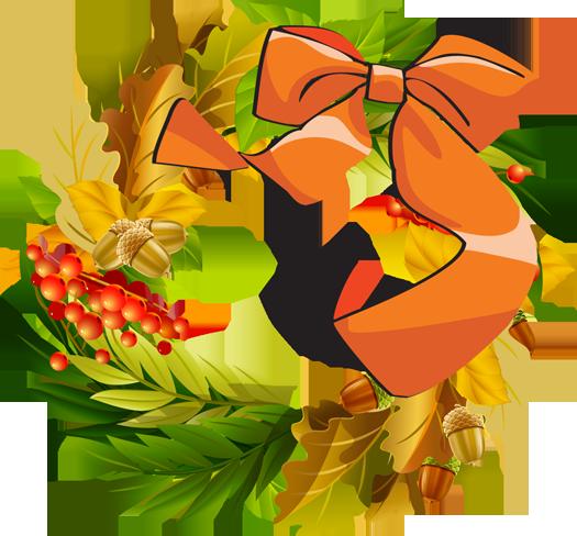 Thanksgiving clipart wreath Clipart Fall Art Autumn Free
