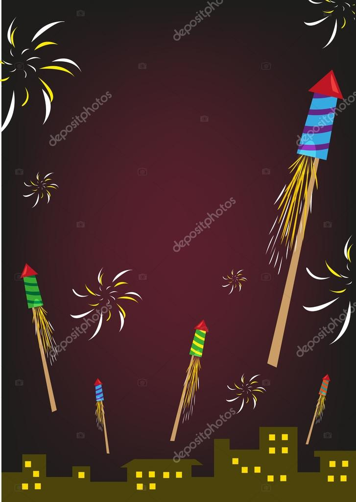 Festival clipart firework rocket Celebrations Vector Buildings Celebration Different