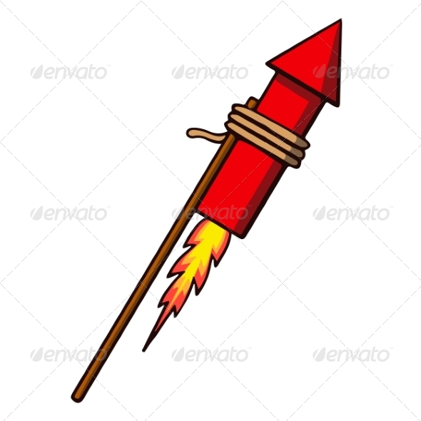 Festival clipart firework rocket Firework Cartoon Festivals Rocket Rocket