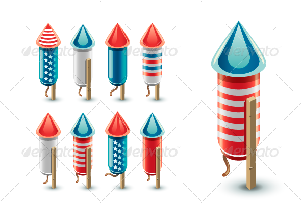 Festival clipart firework rocket Design decoration Rockets catalog anniversary