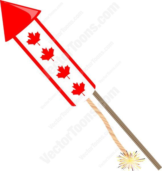 Festival clipart firework rocket Ideas Fuse Lit Leaf Best