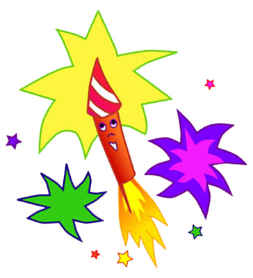 Celebration clipart firework rocket Party Free  Free Firecrackers
