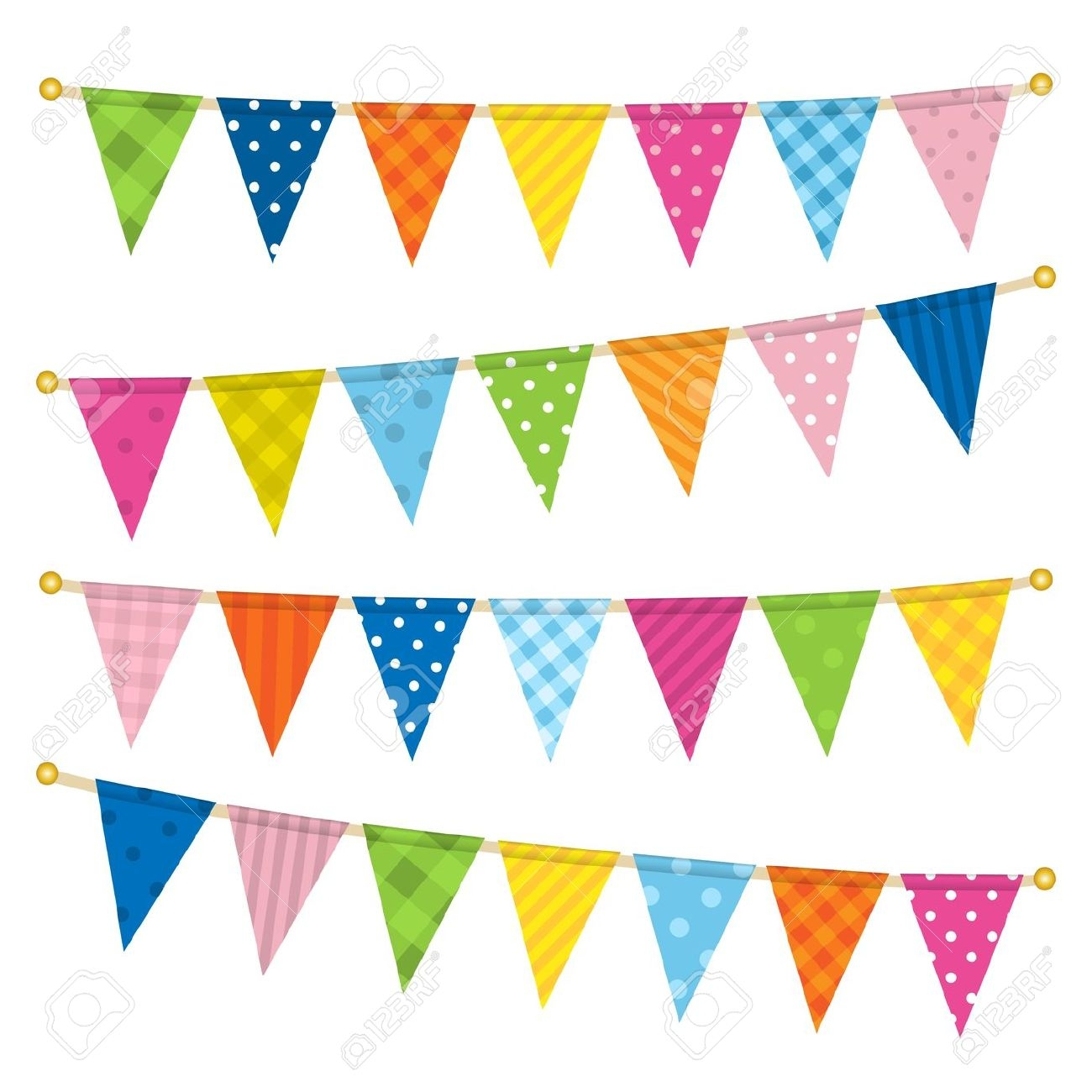 Carnival clipart flag banner Free Download Clip Flags Art