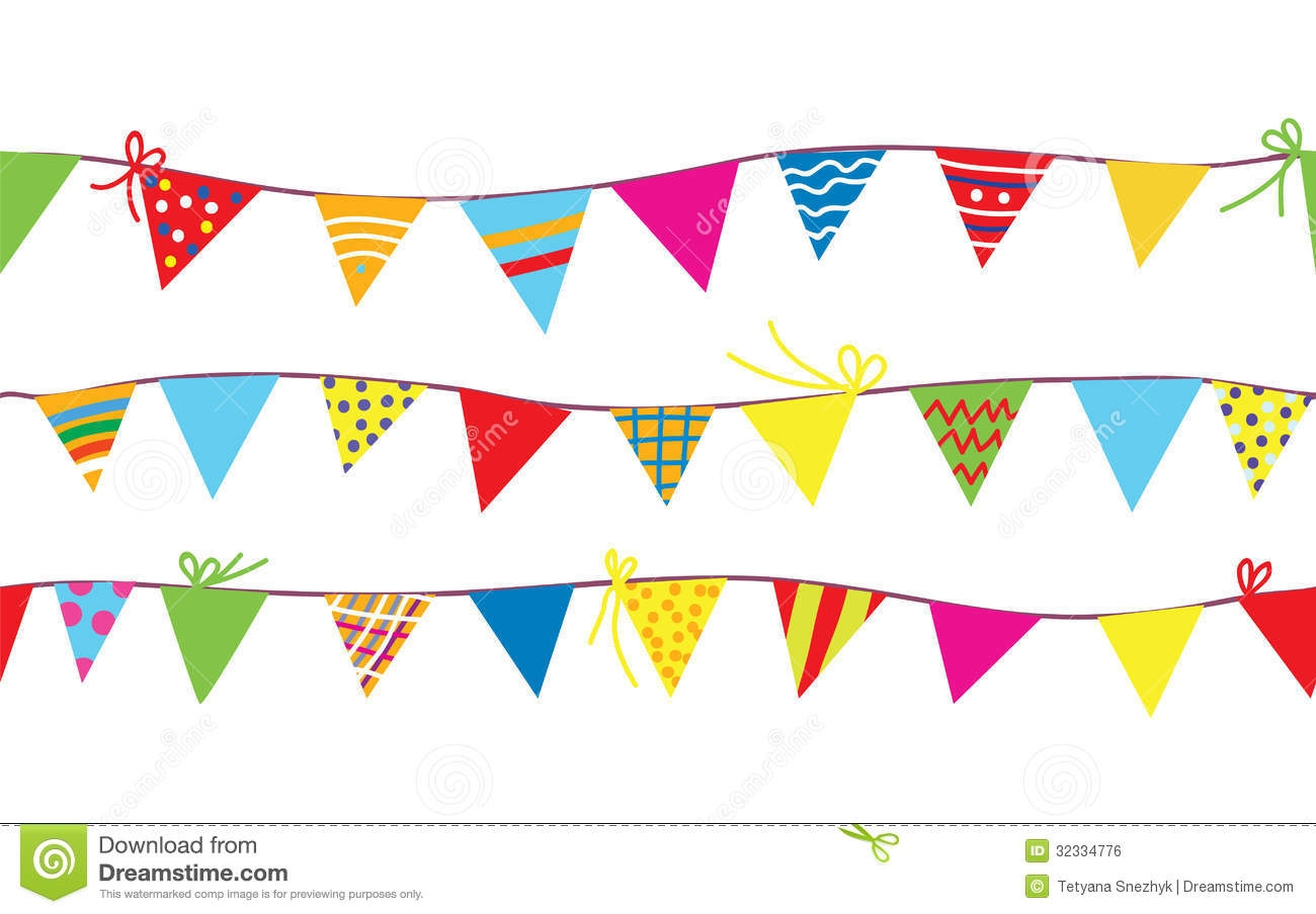 Carnival clipart flag banner Bunting Flags Crafthubs Pennant clipartsgram