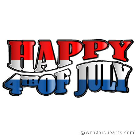 Small clipart 4th july 4th July july July Clip