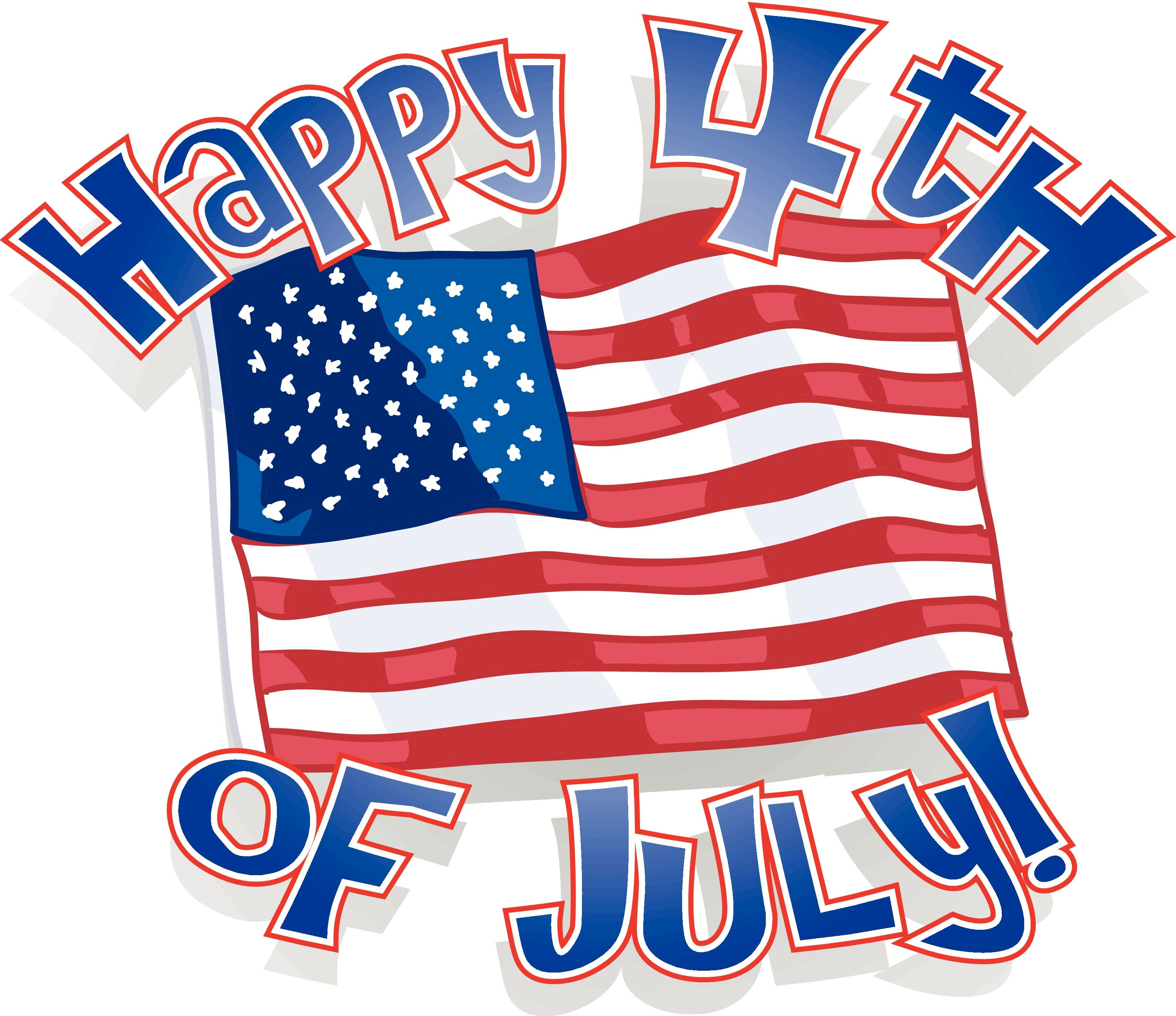 American Flag clipart independence day july 4th Download and July July Black