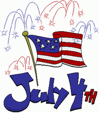 Small clipart 4th july 4th Clipart Free Graphics JULY