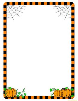Witch clipart frame Frames Clip Frames Halloween Borders